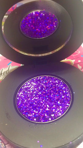 """PURPLE REIGN!"" Single Pressed Glitter Palette"