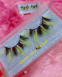 *Queen BEE-OTCH* (Black & Yellow) DreamDoll COLOR Lashes!