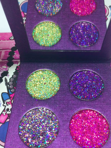 QUEEN'S PALACE METALLIC Pressed Glitter Quad