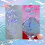 *SALTWATER GLOW* MERMAID JELLY (FACE/BODY/HAIR) GLITTER GEL - inkeddollcosmetics