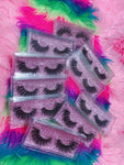 #SNATCHED 5D DREAMDOLL LASHES *GLITTER* CASE - inkeddollcosmetics
