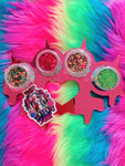 *MERRY & BRIGHT!*  New Glitter Knuckleduster Pallette - inkeddollcosmetics