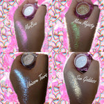 4 PACK *UNICORN GLOW HIGHLIGHTER*! DOLLust DUST - inkeddollcosmetics