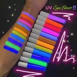 *UV* GLOWSTICK (Orange) Liquid Eyeliner!