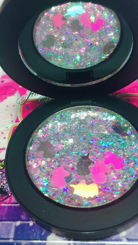 PRESSED GLITTER! *Unicorn Collection* - inkeddollcosmetics