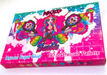 *SOLD OUT!* UNICORN SUGAR SKULL (30 PC Matte/Shimmer Pressed Palette) - inkeddollcosmetics