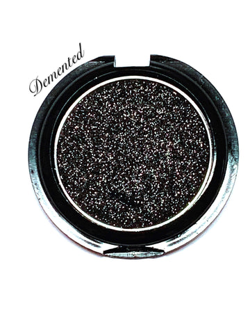 *Currently SOLD OUT!* DEMENTED *Diamond Glow* Pressed Single Eyeshadow - inkeddollcosmetics
