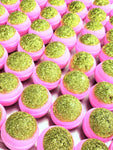 "*LMT. EDT* ""PINK CHAMPAGNE GOLD"" Deluxe Bath Bomb (Unicorn Bakerie)"
