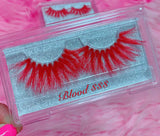 *BLOOD $$$*(Red) DreamDoll COLOR Lashes!