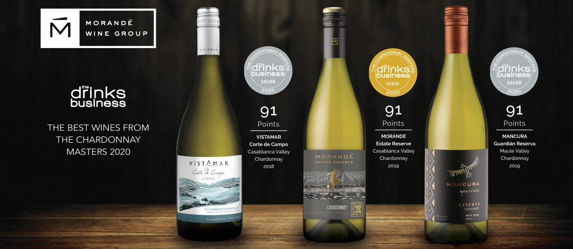 MORANDE WINE GROUP OBTIENE EXCELENTES PUNTAJES EN THE BEST WINES FROM THE CHARDONNAY MASTERS 2020