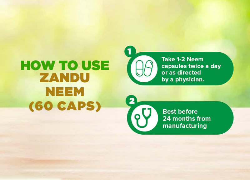 How to Use Neem capsules