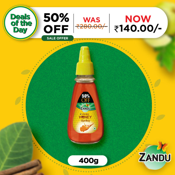 Zandu Pure Honey Squ-Easy (400g)