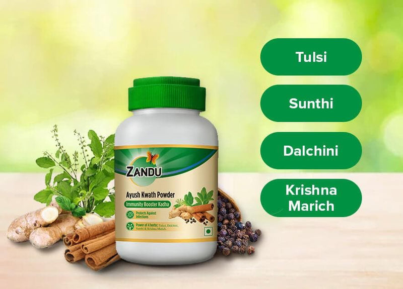 Zandu Ayush Kwath Powder (100g) (Buy 1 Get 1)
