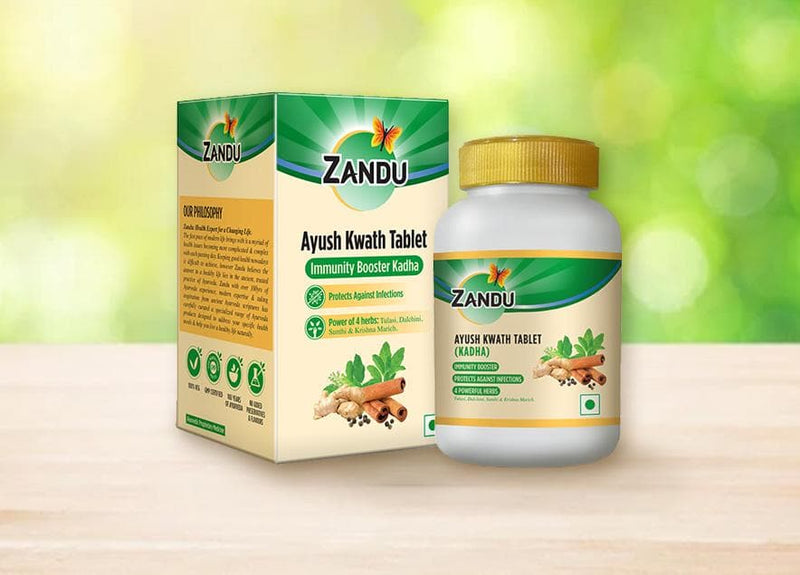 Zandu Ayush Kwath Tablet (60 Tabs)