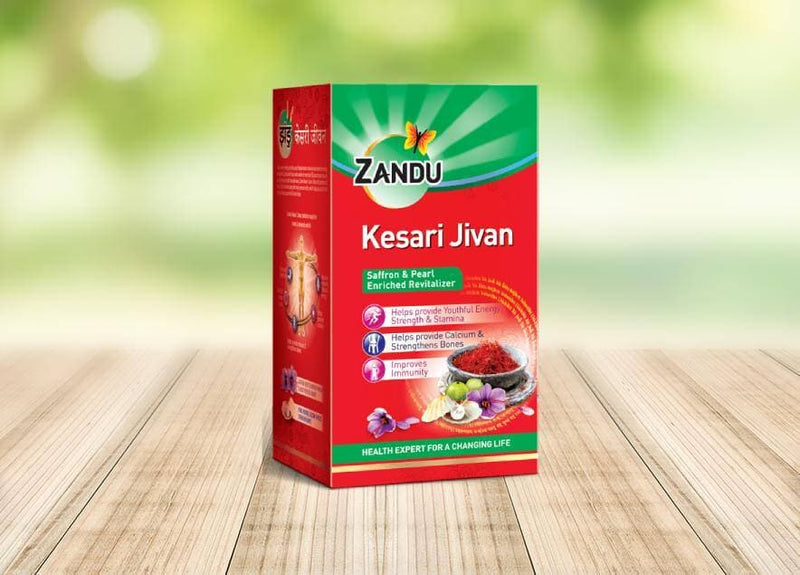 Zandu Kesari Jivan 450 gm Pack of 2