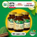 Zandu Neem (60 Caps)( Buy 1 Get 2)