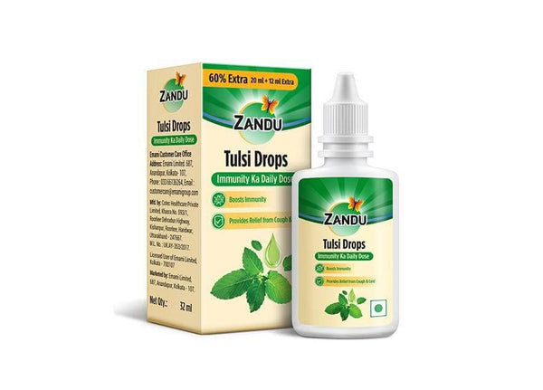 Zandu Tulsi Drops (32 ml)