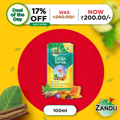 Zandu Cough Syrup 100 ml