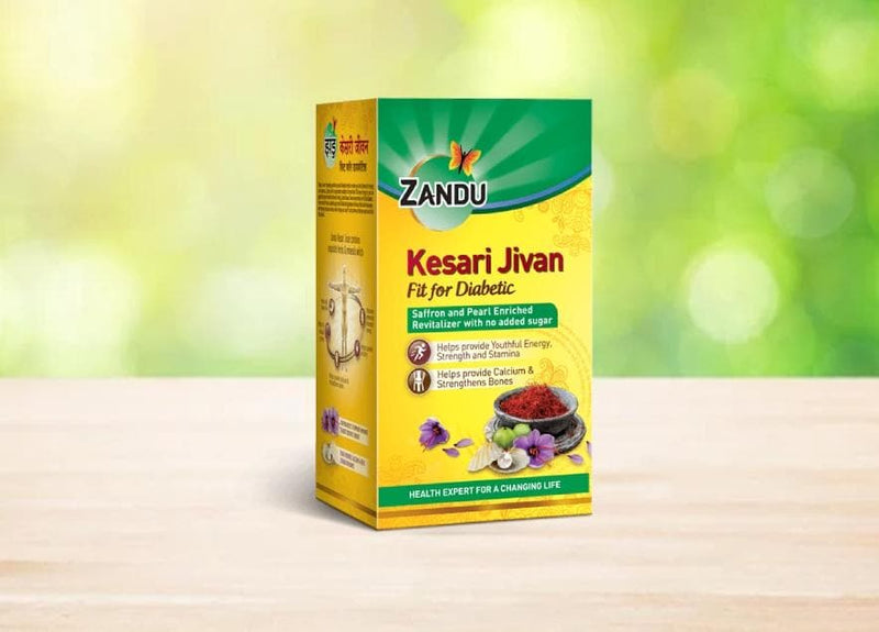 Zandu Kesari Jivan - Fit For Diabetic (450g) (Pack of 2)