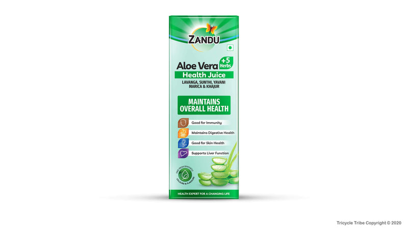 Aloe Vera + 5 Herbs Health Juice (500 ml)