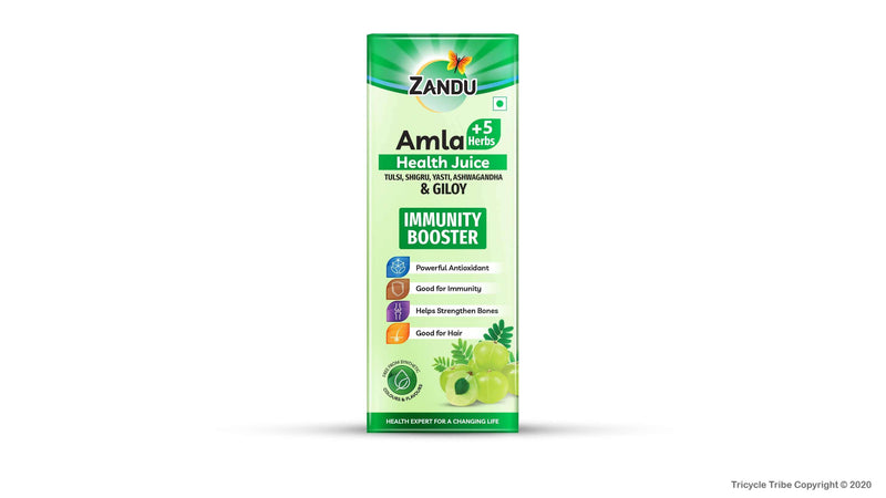 Amla + 5 Herbs Health Juice (1 L)
