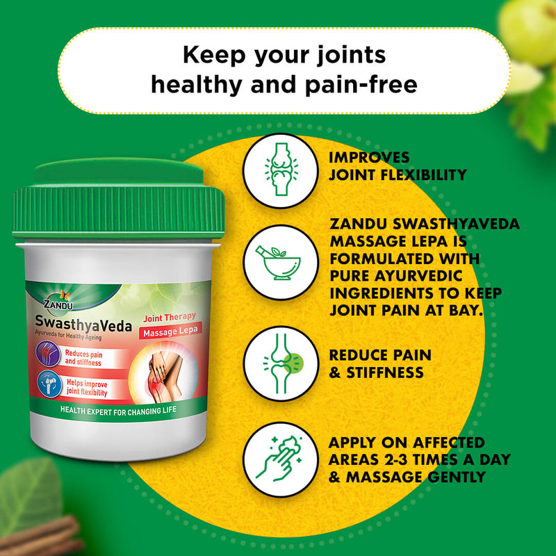 Zandu Swasthyaveda Joint Therapy Kit