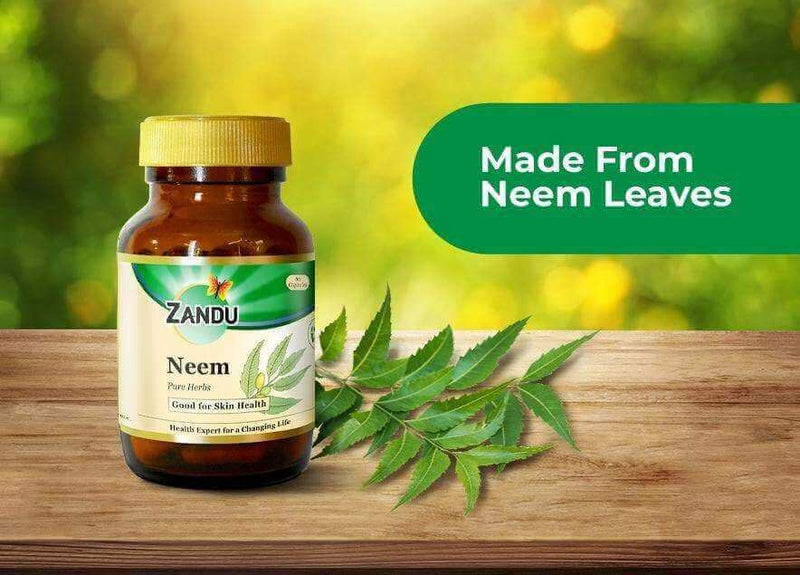 Neem (60 Caps) & Tulsi Drops (32ml)