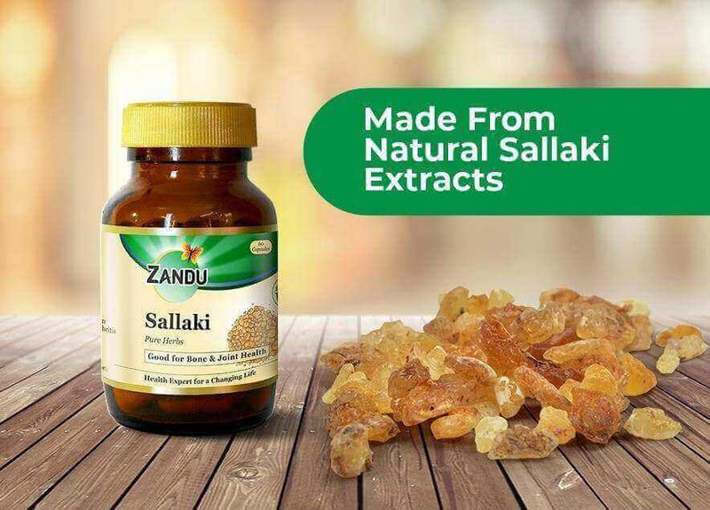 Sallaki (60 Caps) & Tulsi Drops (32ml)