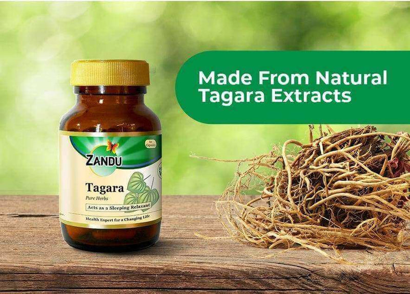 Tagara (60 Caps) & Tulsi Drops (32ml)