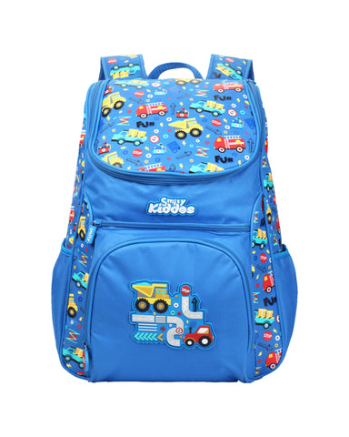 Image of Smily Blue ( Backpack, Pencil Case & Crayon)