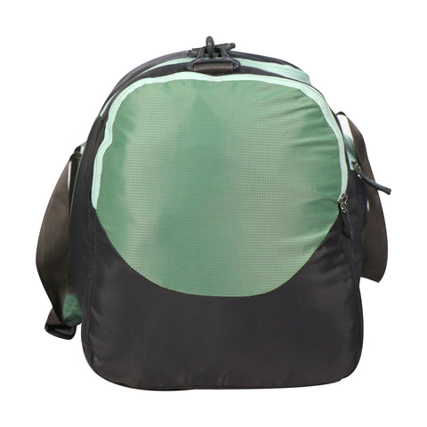 Image of Mike weekender duffel bag - Green & Grey