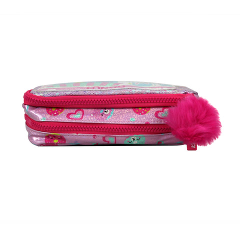 Image of Fancy Donut Pencil Case Teddy Theme
