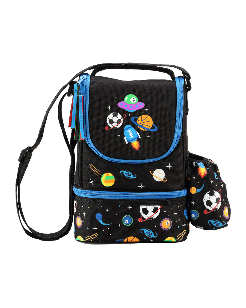Smily Black ( Backpack, Pencil case & Lunch Bag)