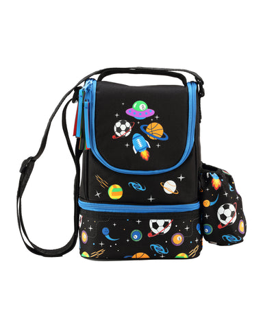 Image of Smily Black ( Backpack, Pencil case & Lunch Bag)