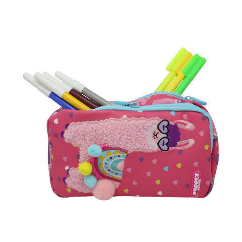Smily Llama Pencil Case