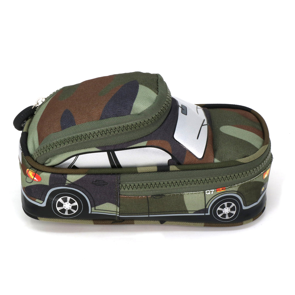 Car Pencil Pouch - Green