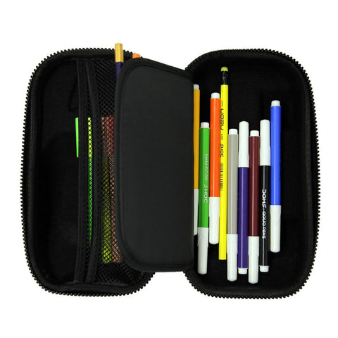 Image of Smily Speed Pencil Case Black