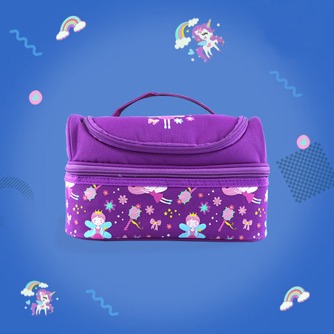 Image of Unicorn Theme Combo Pack ( Backpack, Lunch Bag, Pencil Case, Water Bottle )