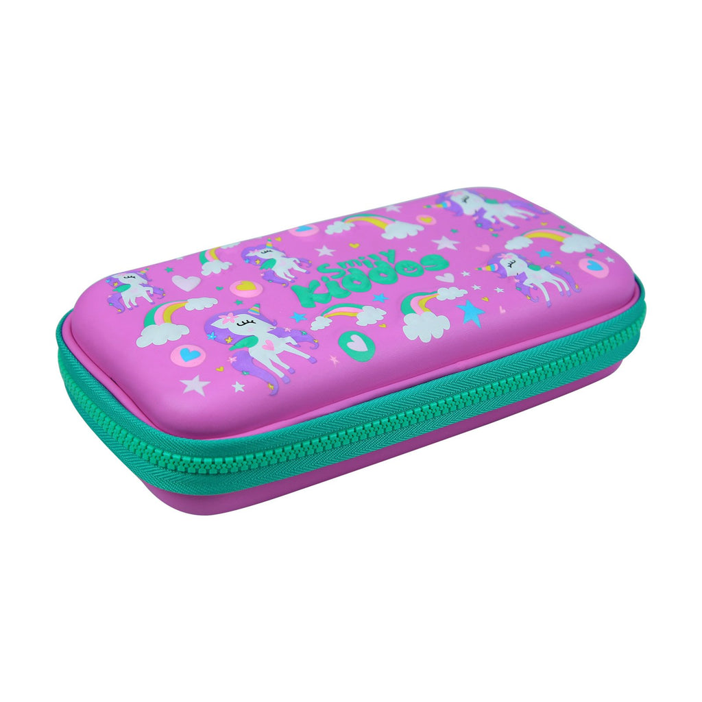 Smily Small Pencil Case Purple