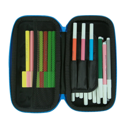 Image of Smily Small Pencil Case Black