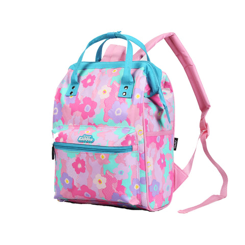 Smily Casual Backpack Pink