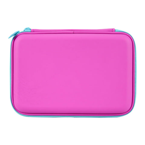 Image of Smily Single Compartment Pencil Case Pink
