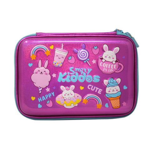 Image of Smily Sparkle Pencil Case Bunny Theme