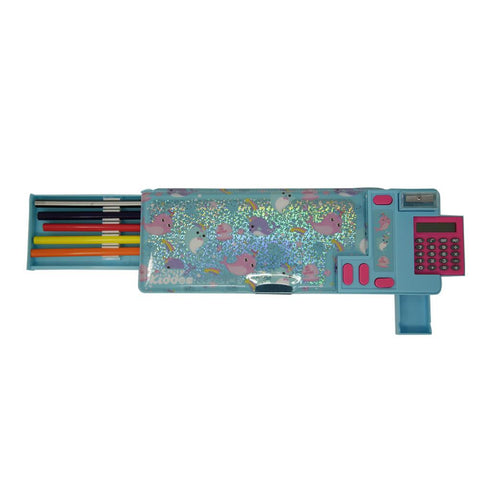 Fancy Pop Pencil Case Whale Theme