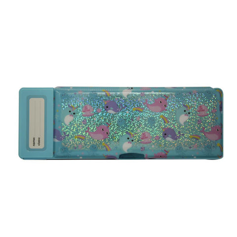 Image of Fancy Pop Pencil Case Whale Theme