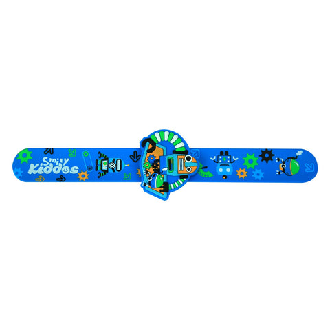 Image of Fancy Scented Slapband Blue