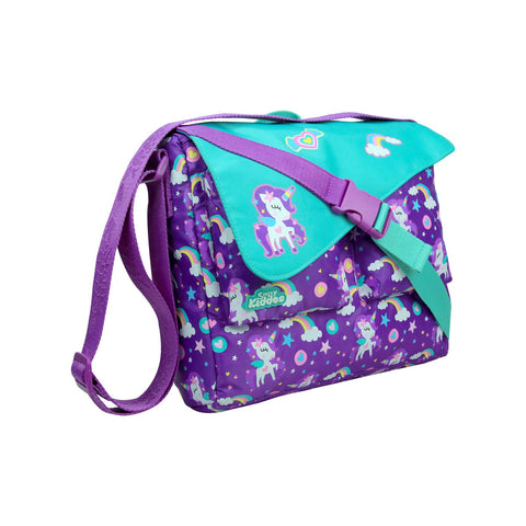 Fancy Shoulder Bag Purple