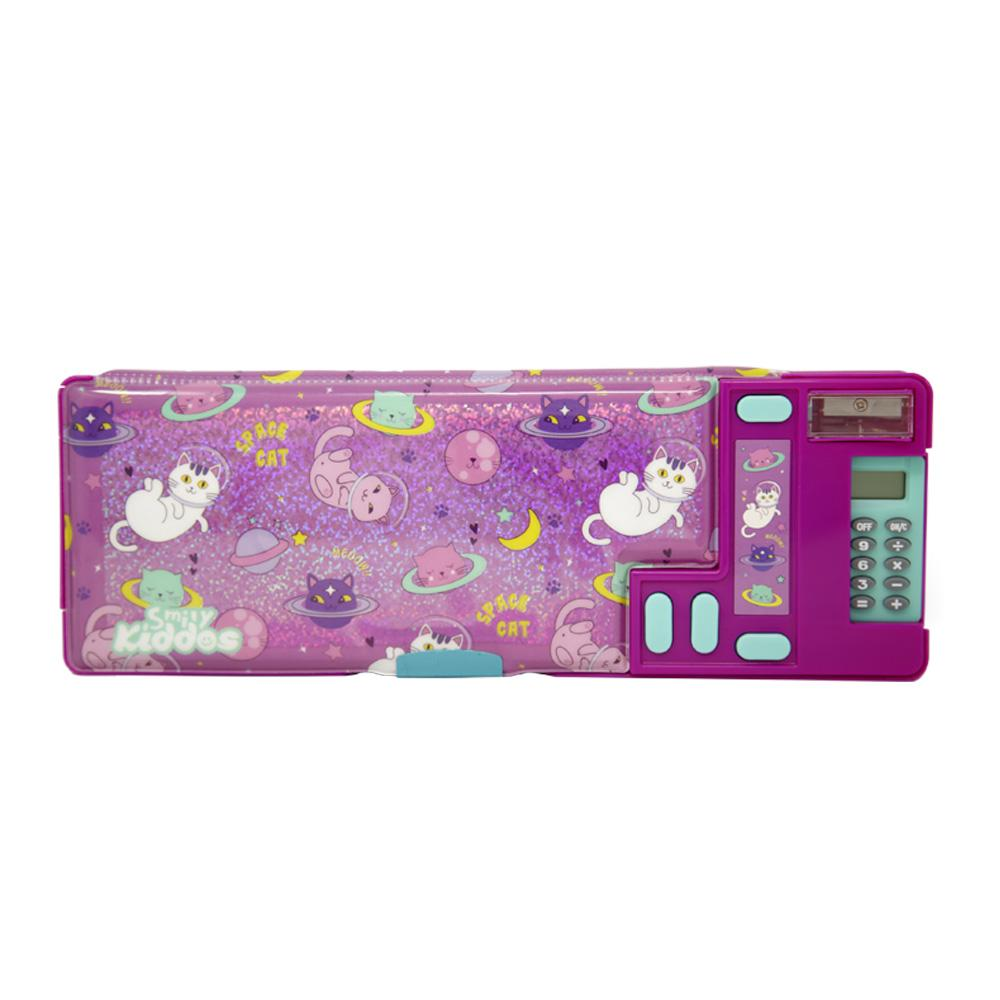 Fancy Pop Pencil Case Space Kitty Theme