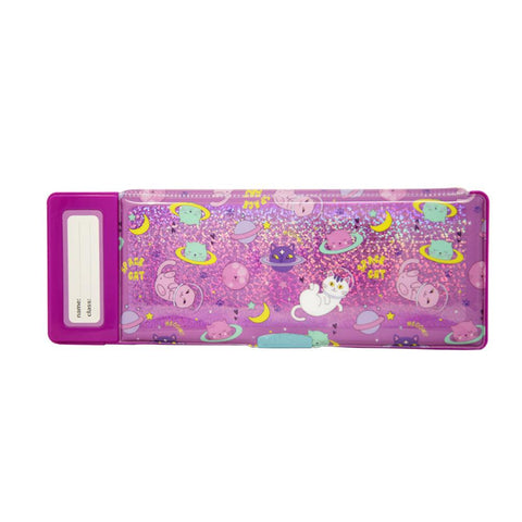 Image of Fancy Pop Pencil Case Space Kitty Theme