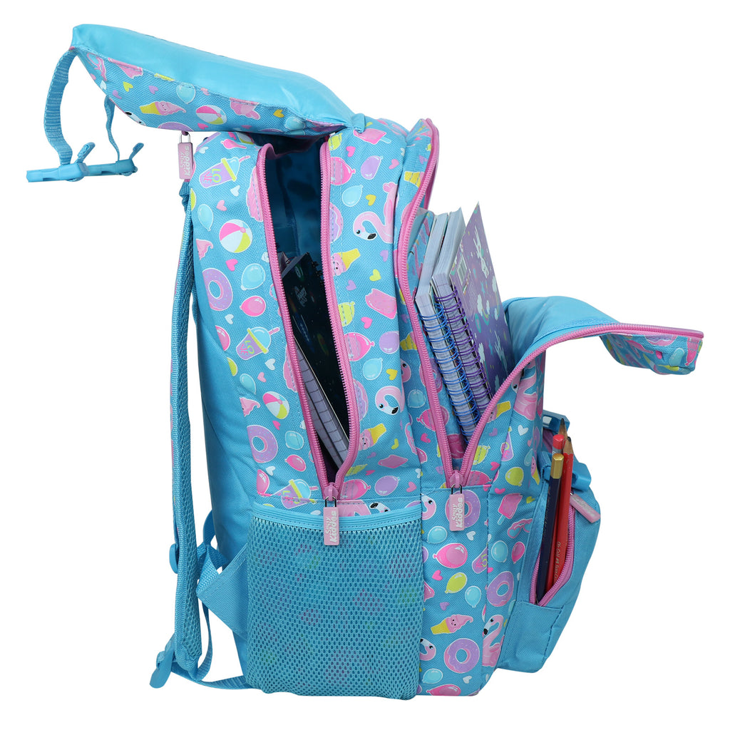 Smily Fancy Backpack Light Blue